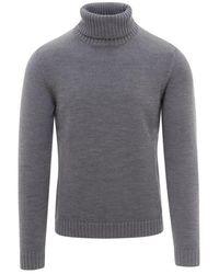 Zanone Sweater - Grijs