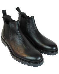 Barbati Beatles Bottolato Shoes - Zwart