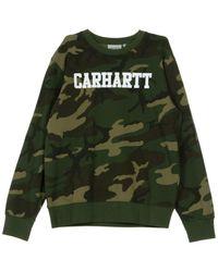 Carhartt WIP - Crewneck College Sweatshirt - Lyst