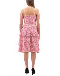 Michael Kors Vestido DE Encaje DE - Color: Rosa