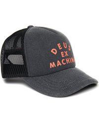 Deus Ex Machina Roller Trucker Cap - Zwart