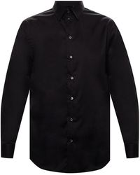 Jack & Jones Katoenen Shirt - Zwart
