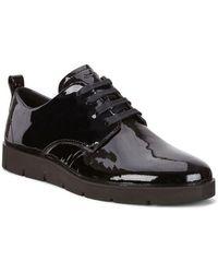 Ecco Bella scarpe basse in pizzo - Nero