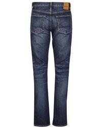 Tom Ford Japanese Selvedge Jeans Azul