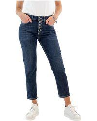 Kiton Jeans - Blauw