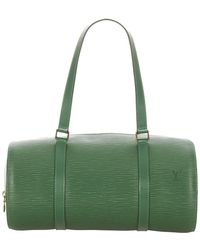 Louis Vuitton Tweedehands Epi Soufflot Leder - Groen