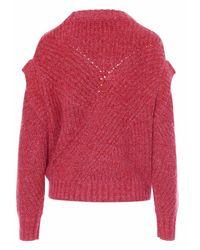 IRO Sweatshirt Wp12Acia - Rouge