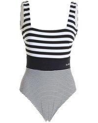 Max Mara 38311018600 022 Swimwear - Wit