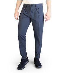 Yes-Zee Trousers P690_wu00 - Blauw
