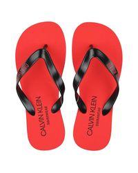 Calvin Klein Sandals - Rood