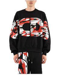 Gcds Sweatshirt - Zwart