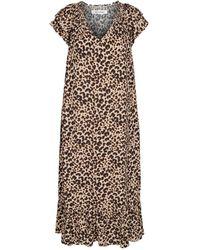 co'couture Sunrise Adore Animal Dress - Neutro