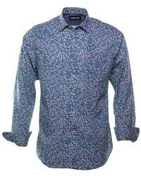 Replay Camisa - Blauw