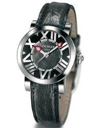 LOCMAN Watches 029100mknnkcstk - Zwart