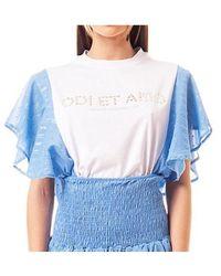 Odi Et Amo 004T1 T-shirt - Bleu