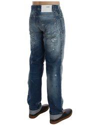 Acht Regular Fit Jeans Azul