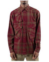 Maharishi Shirts - Marrone