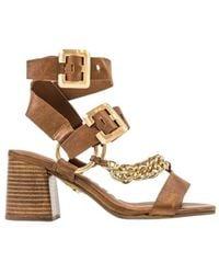 Bronx Jagg-er sandals - Marrón