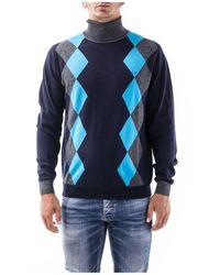 Sun 68 Sweaters - Blauw