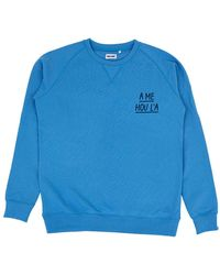 Cheaque A Me Hou L'a Sweater - Blauw