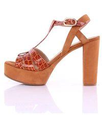 Unisa Verducrwks With Heel - Oranje