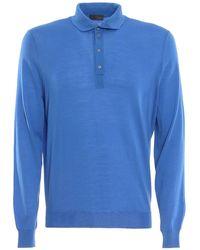 Drumohr Polo - Blauw