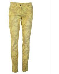 MARC AUREL Pants - Gelb
