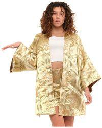 WEILI ZHENG Kimono Swzjk47 - Geel