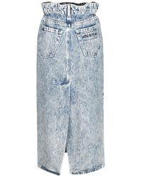 Miu Miu Skirt Azul