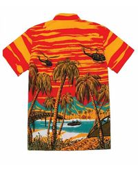 Dark Seas Camisa - Rosso