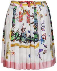 Versace Sea Treasure Skirt - Wit