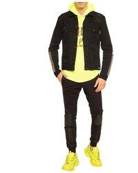 Philipp Plein Sudadera con capucha Amarillo