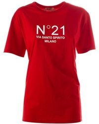 N°21 T-shirt - Rood