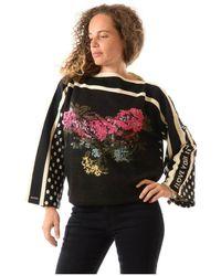 Blumarine Sweater - Zwart