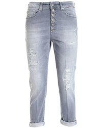 Dondup Koons gioiello jeans - Grigio