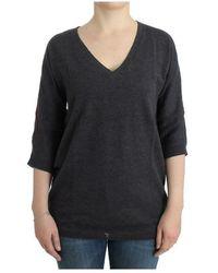 CoSTUME NATIONAL Short sleeved sweater - Grigio