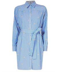 Liu Jo - S/s Jurk Camicia Stripe - Lyst