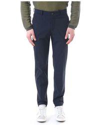 Rrd Trousers - Blauw