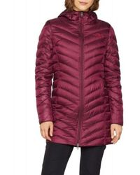 The North Face Parka Trevail Granate - Rood