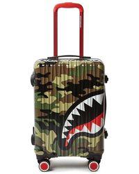 Sprayground Carry On Luggage - Groen