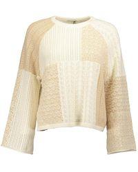 Alice + Olivia Martha Sweater - Naturel