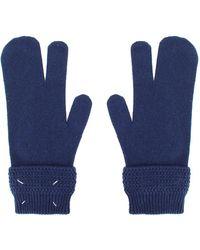 Maison Margiela Gloves Azul
