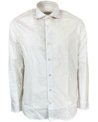 Seventy Camicia Modca0320Car220506 - Blanc