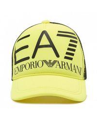 Emporio Armani Cap - Geel