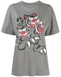 KENZO Loose T-shirt - Grijs