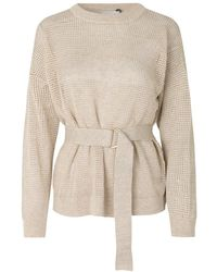 Just Female Omaha knitwear - Blanco
