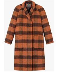 Brixtol Textiles Coat - Arancione