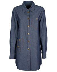 Boutique Moschino Shirt - Bleu
