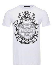Billionaire T-shirt - Blanco