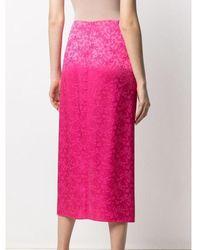 ANDAMANE Gabrielle Floral Skirt - Rose